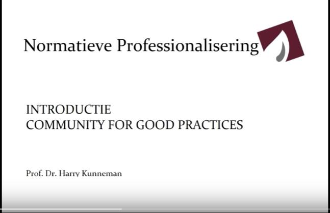 Normatieve Professionalisering Beroepshouding In De Zorg